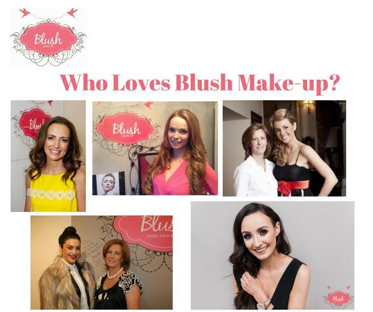Blush Makeup and Nails