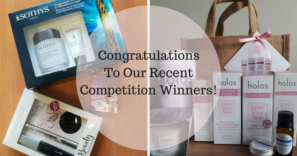 Congratulations To Our Competition Winners!