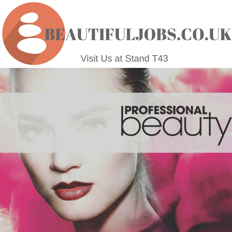 See you at Professional Beauty, Excel London this Sunday!