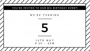 you're invited to our big birthday event!
