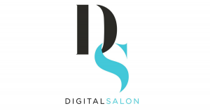 digital salon logo social