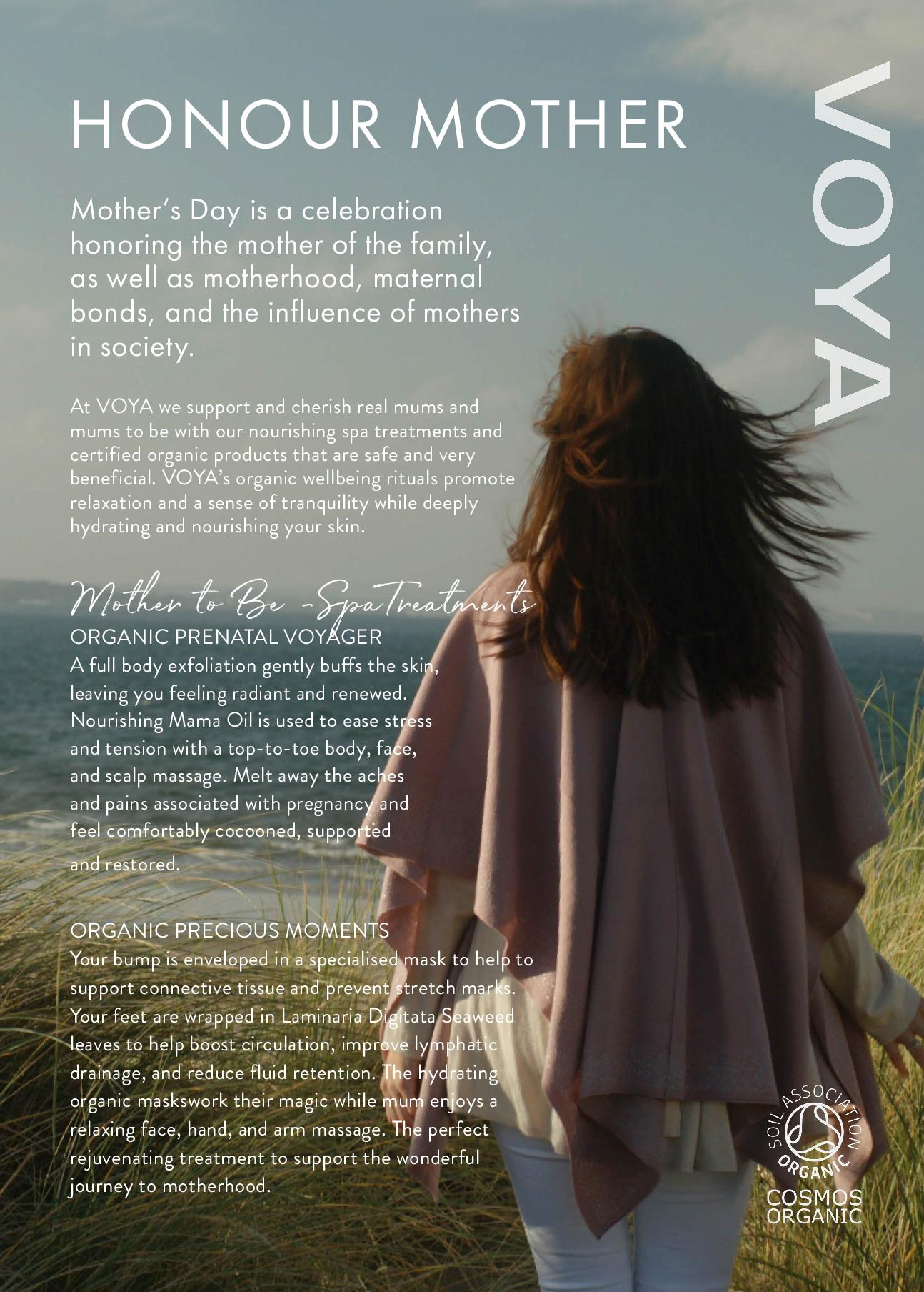 VOYA HONOUR MOTHERS IN MARCH - MOTHERS DAY GIFTS