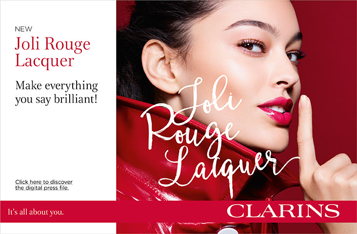 Clarins Launch Joli Rouge Lacquer