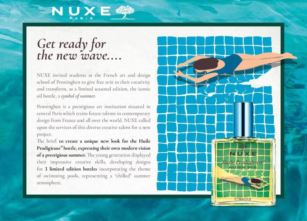 NUXE -waves-beautifuljobs