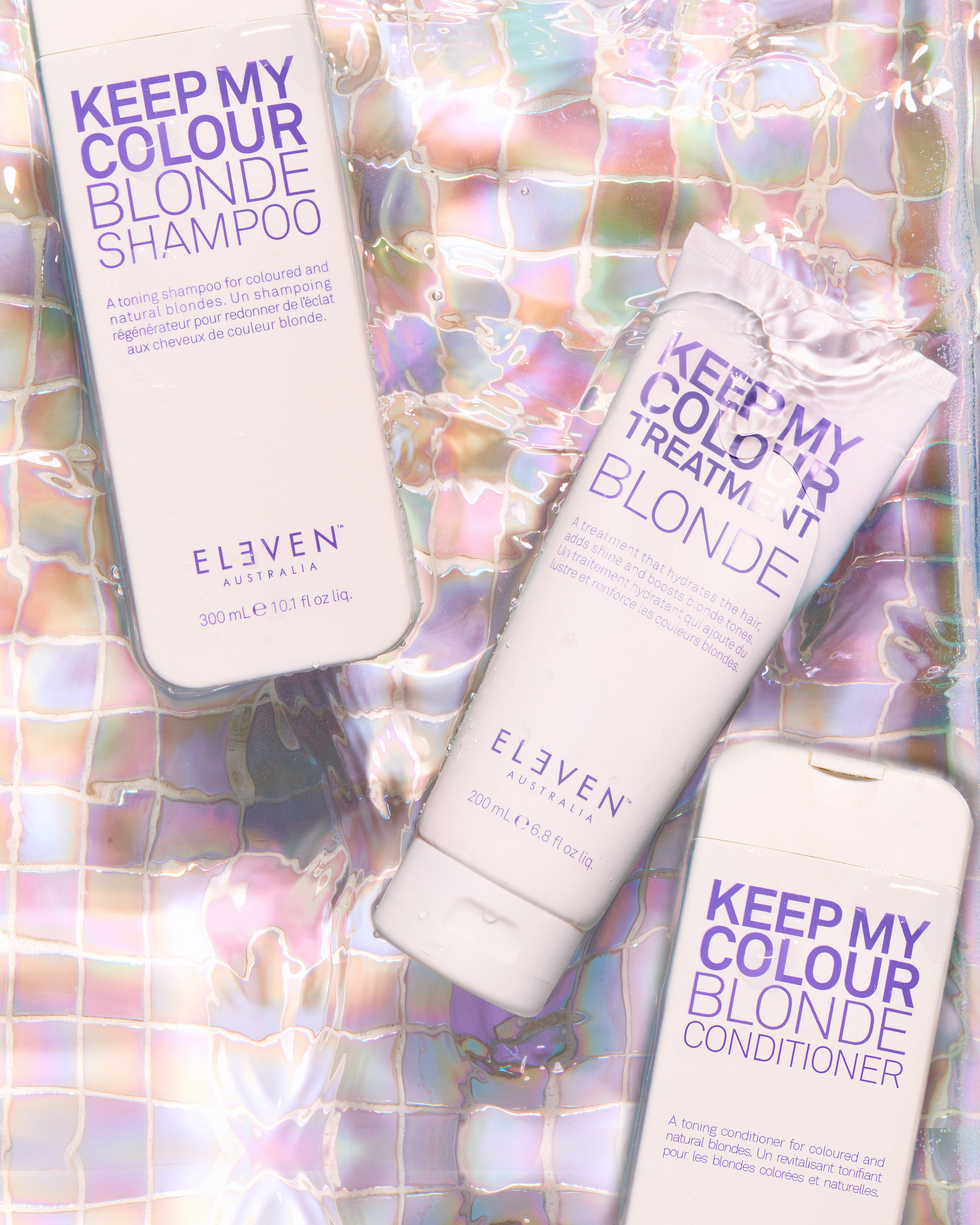 Set The Tone with ELEVEN Australia's Latest Addition to the KEEP MY COLOUR BLONDE Family
